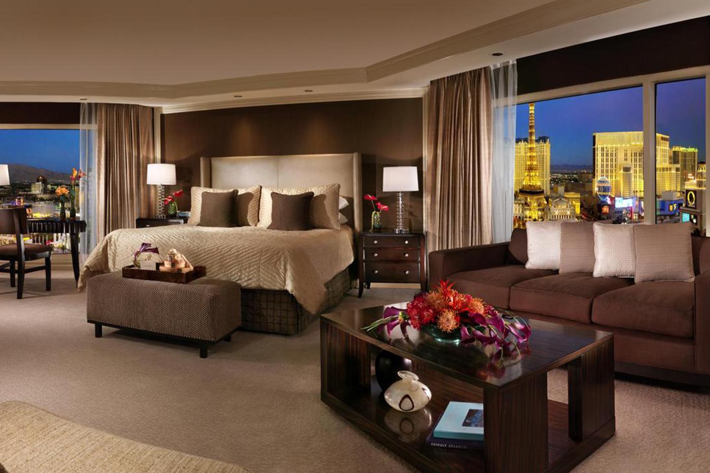 The bellagio las vegas hotel casino for Salone suite