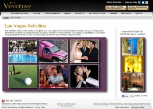 VenetianHotel-Activities