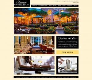 Fairmont Hotel Internal Page