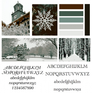 Winter Love - Moodboard