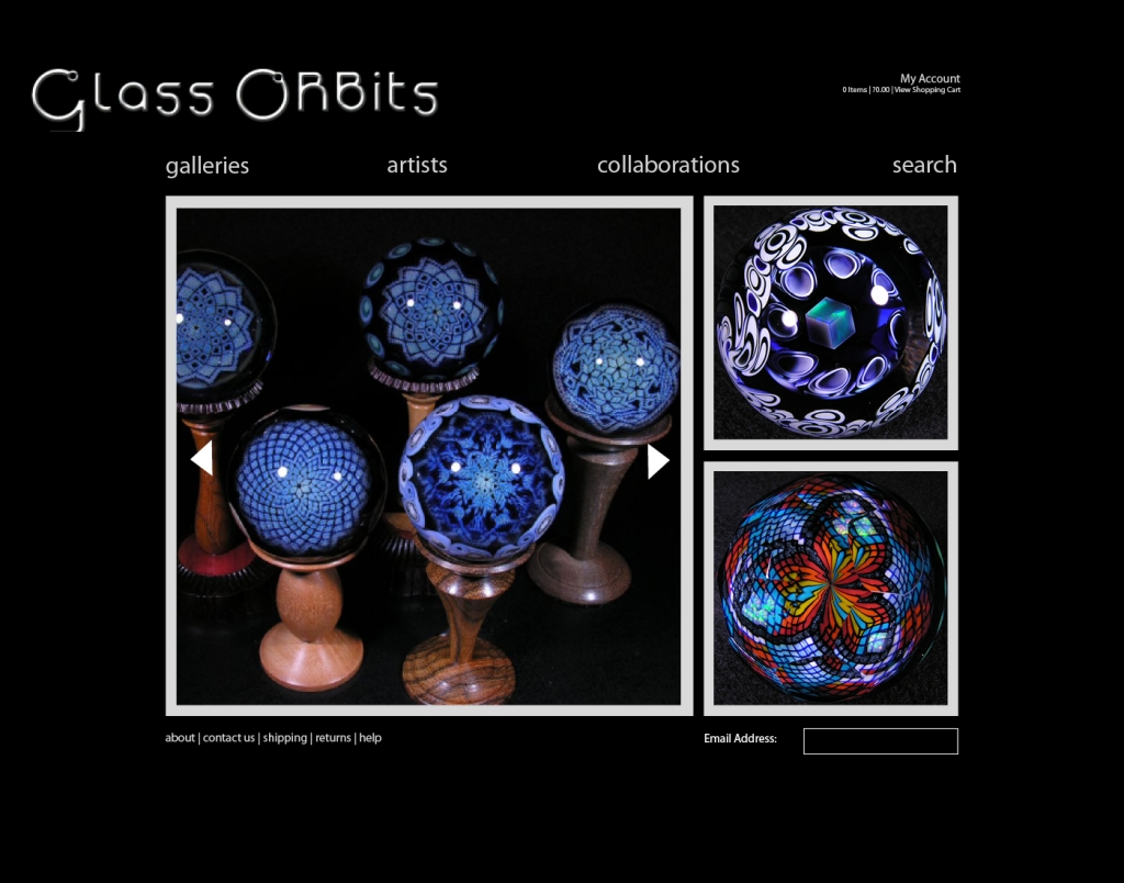 Glass Orbits Internal Page